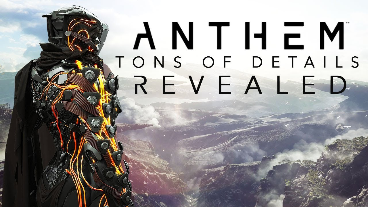 anthem everything you need to know youtube