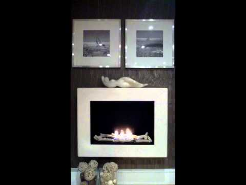 Hermes with Logs Bioethanol Fireplace - Gel Fireplaces Ltd from YouTube · Duration:  17 seconds