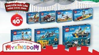 Đồ chơi lắp ráp LEGO CITY - Khuyến mãi Noel 2016
