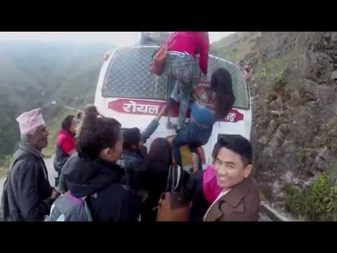 Nepal: Riding on the Roof of a Bus in the Foothills of the Himalayas