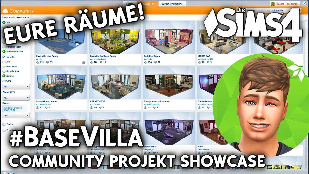 Die sims 4 gaumenfreuden release showcase restaurant gameplay pack - Eure R Ume Die Sims 4 Base Villa Galerie Showcase Zum Community Projekt