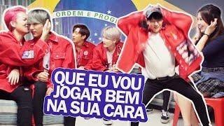 ÍDOLOS COREANOS FALANDO PORTUGUÊS ft B.I.G | Kpop Idols speaking in portuguese