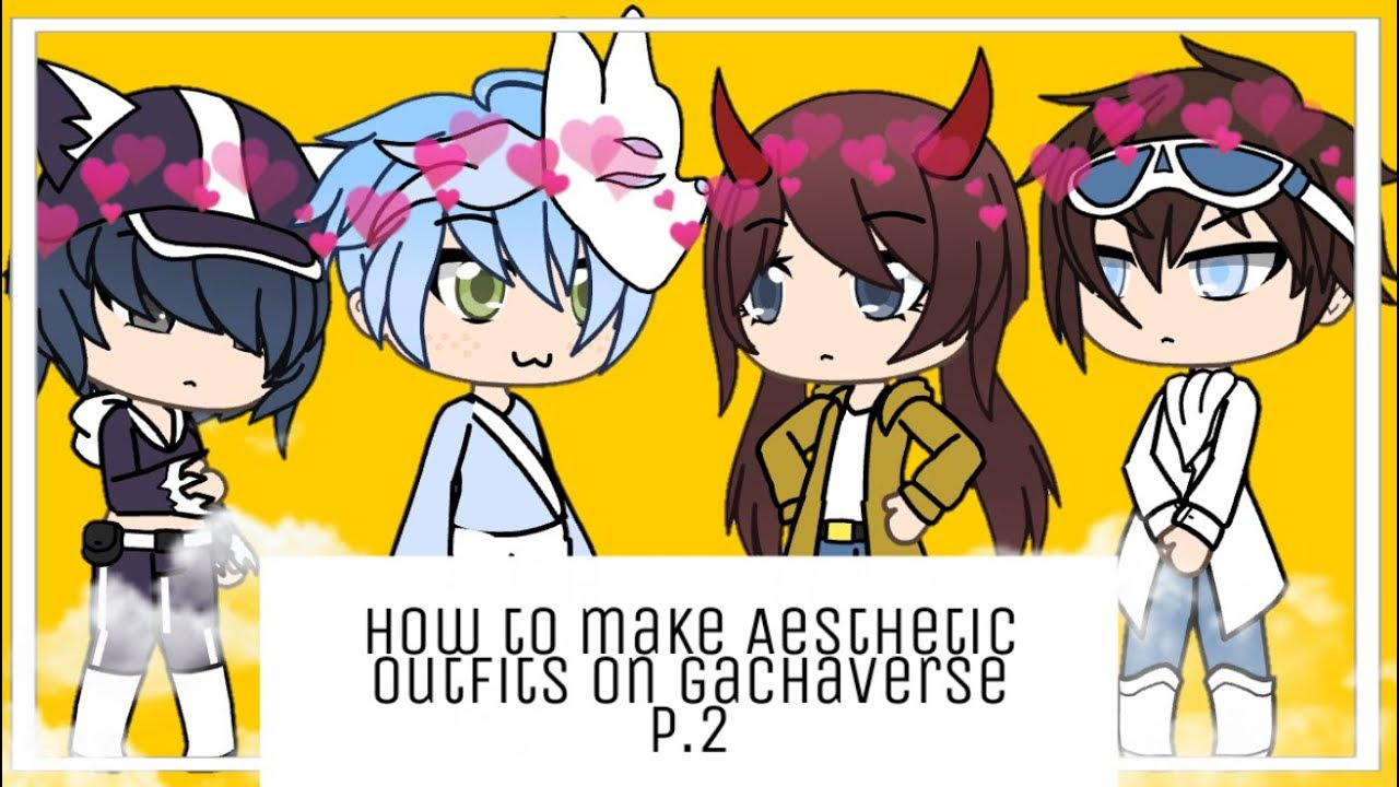 [VIDEO] - How to make aesthetic outfits on gachaverse pt.2     Gachaverse 3
