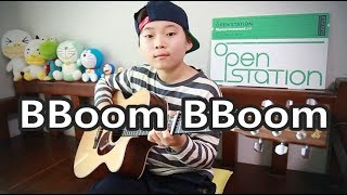 BBoom BBoom (뿜뿜) - MOMOLAND (모모랜드) _ Fingerstyle guitar arranged & cover by 10-year-old Sean Song