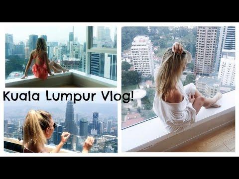 Kuala Lumpur Malaysia Travel Vlog; Helipad Bar, Petronas Towers, KL Tower, Aquaria KLCC  | EmTalks