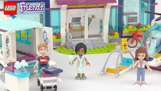 LEGO Friends Heartlake Hospital - Playset 41318 Toy Unboxing & Speed Build