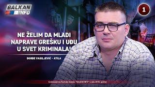 INTERVJU: Đorđe Vasiljević - Ne želim da mladi naprave grešku i uđu u svet kriminala! (11.7.2019)
