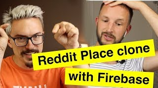 Let's pair program a Reddit place clone using Firebase