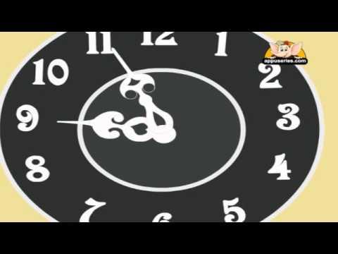 Nursery Rhyme - The Clock Song