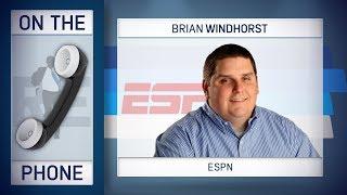 ESPN's Brian Windhorst Talks Luke Walton, LaVar Ball, LeBron James & More w/Rich Eisen | 1/12/18