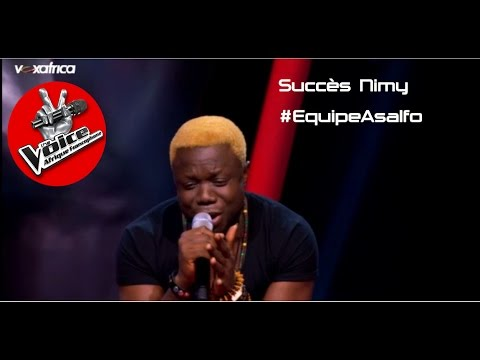 Succès Nimy chante 1er gaou  Auditis à laveugle  The Voice Afrique francophe 2016