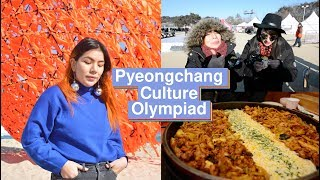 Going to my first Korean musical | Pyeongchang Culture Olympiad 2018 Vlog