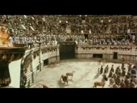 Los Mártires de la Fe en el Coliseo de Roma - Cristianos perseguidos