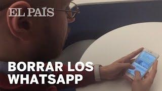 Ya puedes borrar los WhatsApp enviados | Tecnología thumbnail