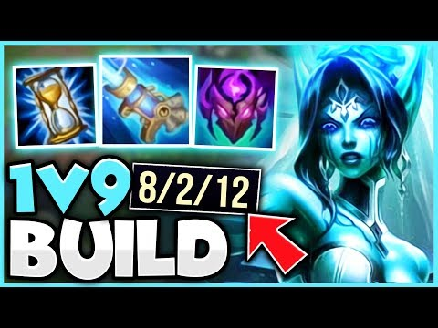 THE BEST WAY TO PLAY MORGANA MID LANE! 1V9 CARRY EVERY GAME WITH THIS BUILD! - League of Legends