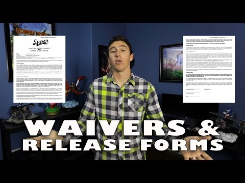 Waivers and Release Forms!