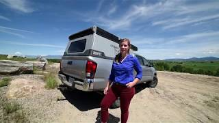 Hatch Adventures Reviews the Go Fast Campers Tacoma Camper
