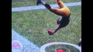 360 backflip into touchdown on madden 2009