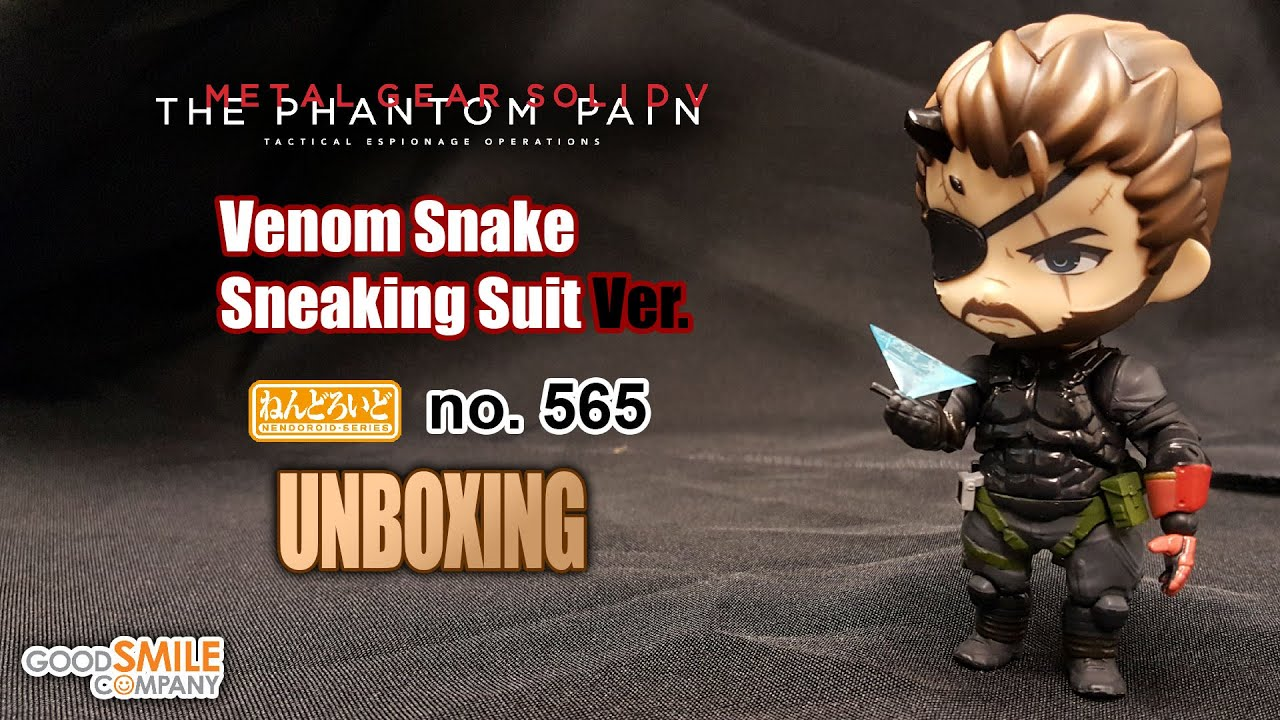 2019Nendoroid 565 Metal Gear Solid Venom Snake Sneaking Suit Ver PVC Figure Toy