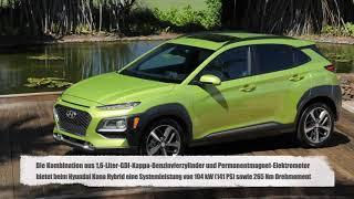 Individuell Und Sauber - Hyundai Kona Hybrid In Drei Ausstattungen