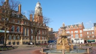 Leicester, England. UK TRAVEL VIDEO