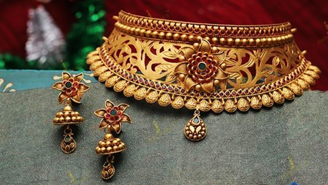 Antique Bridal Choker Necklace Designs