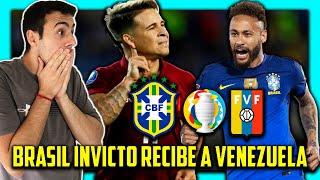 🇧🇷 BRASIL vs VENEZUELA 🇻🇪 COPA AMERICA 2021 🏆 FECHA 1 ⚽ PRONOSTICO & PREDICCION