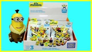 Opening Mega Bloks Minions Toys Surprises