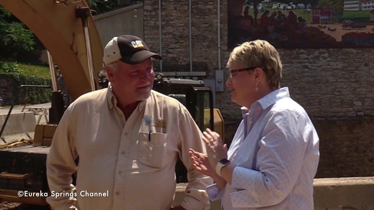 Sinkhole in Eureka Springs Opens up Dialog
