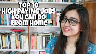 Video 10 HIGH PAYING JOBS YOU CAN LEARN AND DO FROM HOME download MP3, 3GP, MP4, WEBM, AVI, FLV September 2019