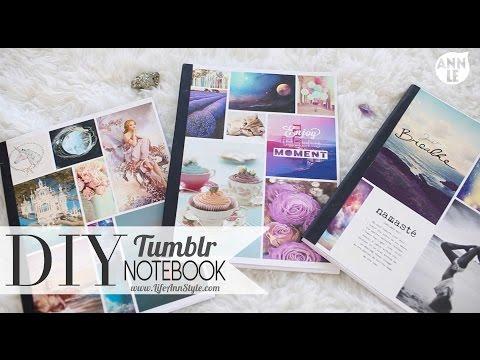 DIY Tumblr Notebook Back To School Hack   ANN LE