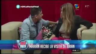 Marian y Brian - El Reencuentro en el Cuarto Rojo - Gran Hermano 2015