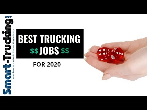Truck Driving Jobs in 2020 — SEEKING OUT THE BEST! SMART TRUCKING PODCAST #1