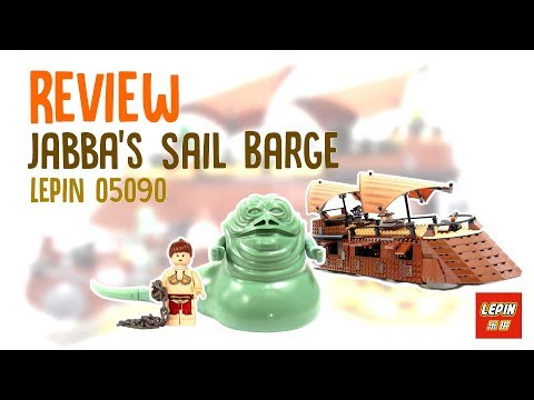 Review of Jabba's Sail Barge Set 05090 | ToyGeekPH