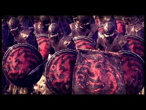 Daenerys Targaryen Invasion Of Westeros - 11,000 Man Battle | Seven Kingdoms Total War