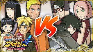 NARUTO SHIPPUDEN: Ultimate Ninja STORM 4 ROAD TO BORUTO | Uzumaki Family VS Uchiha Family