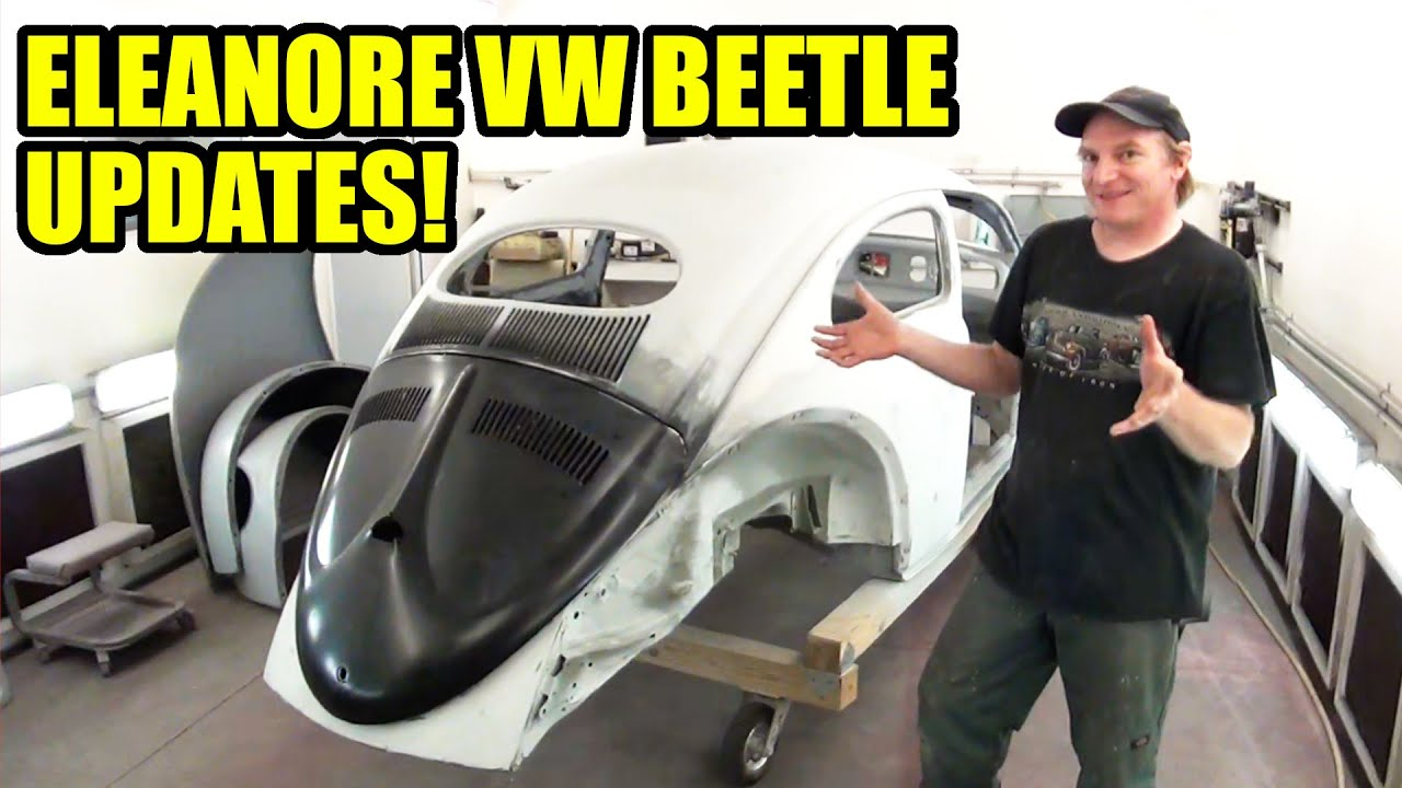 Visiting Eleanore and Updates from Earl! - ROTTEN OLD CHOP TOP 1956 VW BEETLE - 140