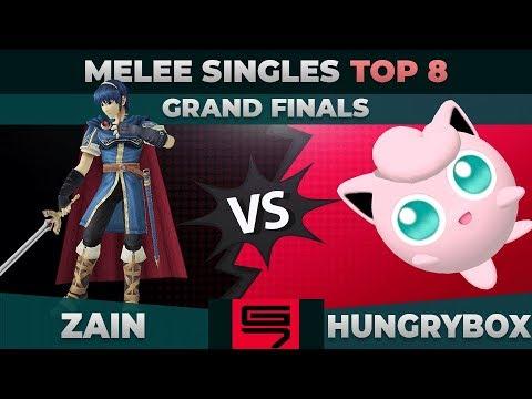 Zain vs Hungrybox - GRAND FINALS: Top 8 Melee Singles - Genesis 7 | Marth vs Puff