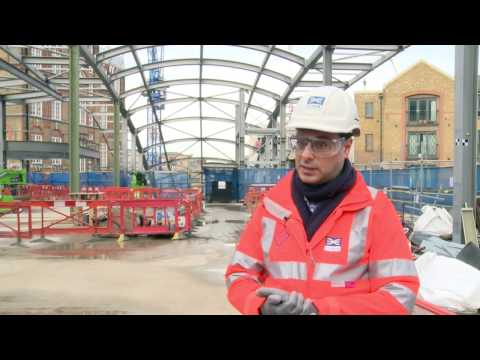 Crossrail shorts: Whitechapel station update