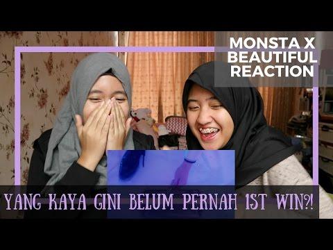 MONSTA X - Beautiful // MV Reaction (Indonesia)