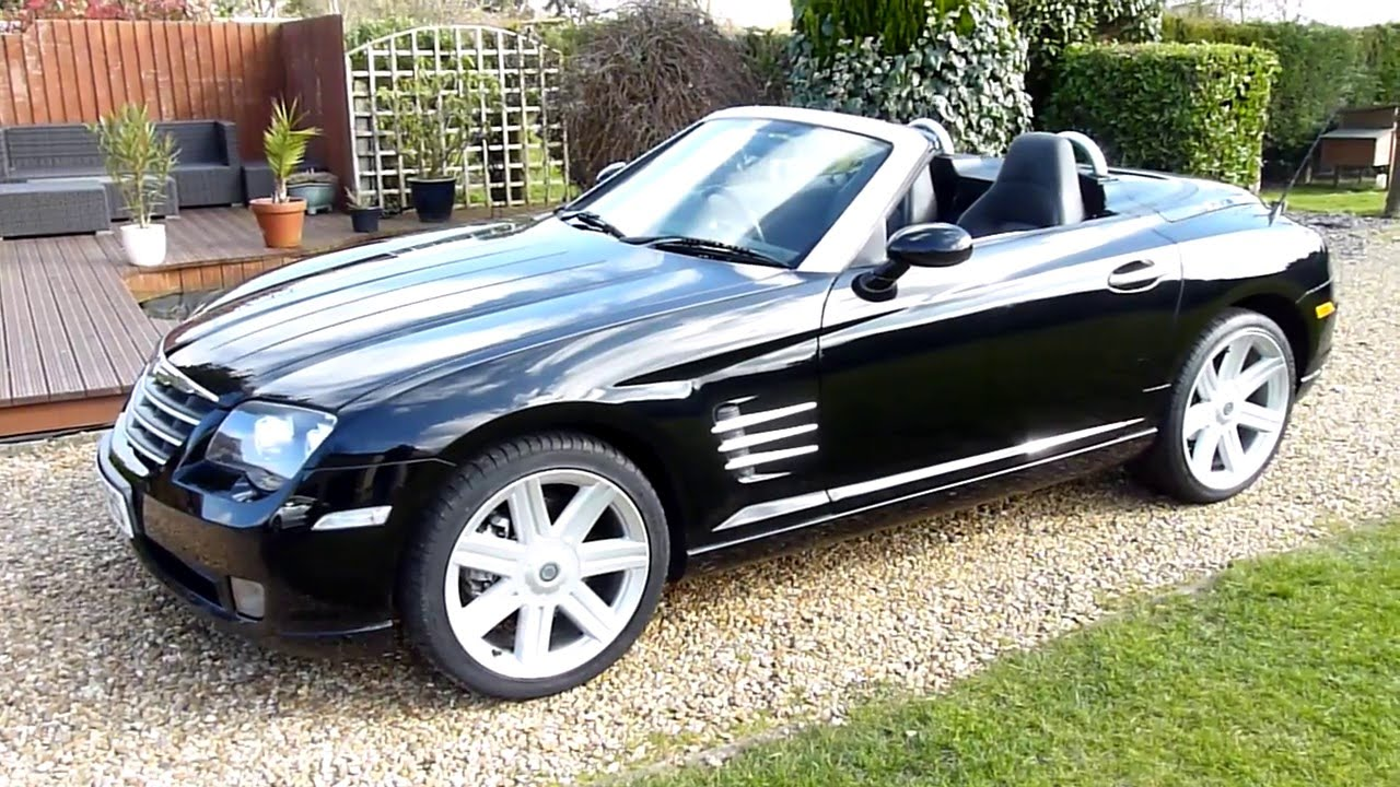 Video Review of 2006 Chrysler Crossfire Convertible For ...