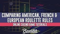 American vs French vs European Roulette Explained!   Online Casino Game Tutorials