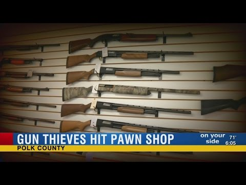 Thieves steal guns from Bartow pawn shop, more firearms on Bay area streets