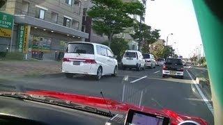 レガシィで万代書店 仙台泉店までの様子 車載動画 GZ-E265で撮影