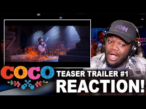 Thumbnail: Coco Teaser Trailer #1 : REACTION!