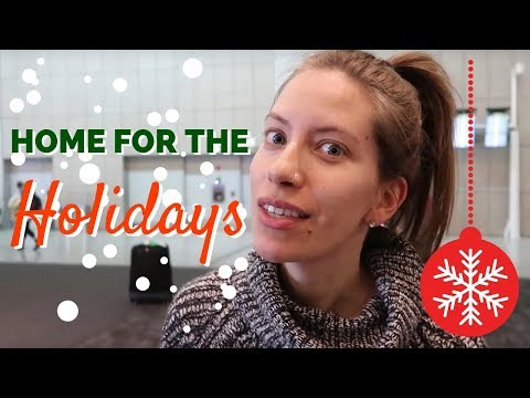 Italy to Canada Travel Vlog: Going Home for the Holidays