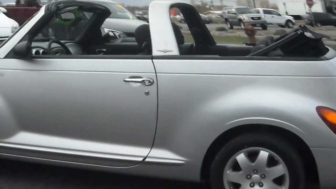 2005 chrysler pt cruiser convertible 4cyl turbo nice youtube. Black Bedroom Furniture Sets. Home Design Ideas