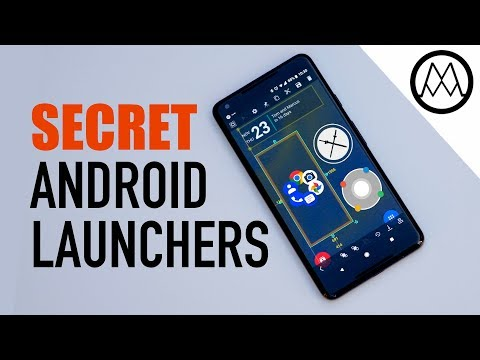 6 Amazing SECRET Android Launchers (2017 / 2018) - YouTube