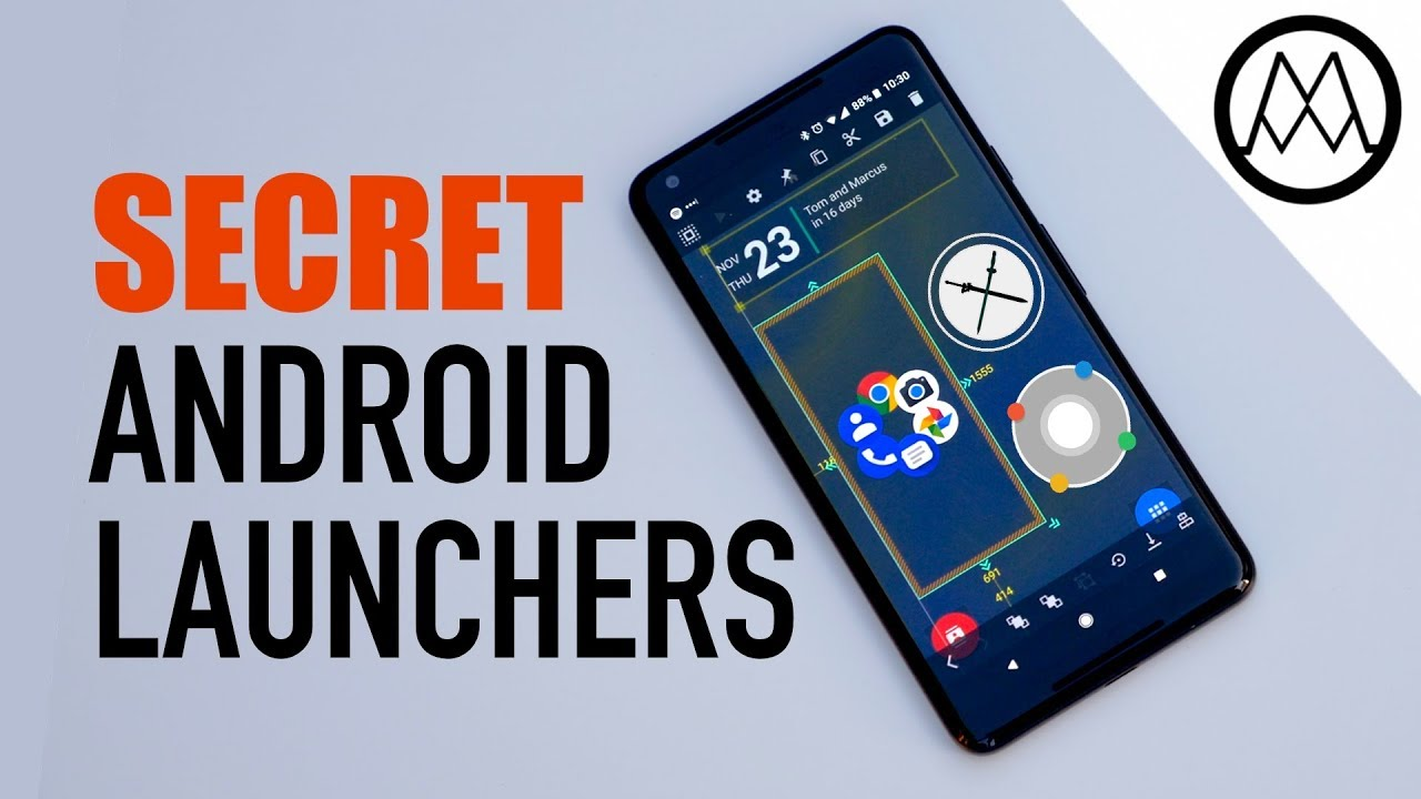 6 Amazing Secret Android Launchers 2017 2018 Youtube
