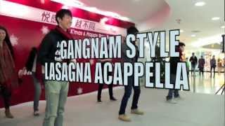 Download PSY GANGNAM STYLE (Lasagna Acappella cover) MP3 song and Music Video